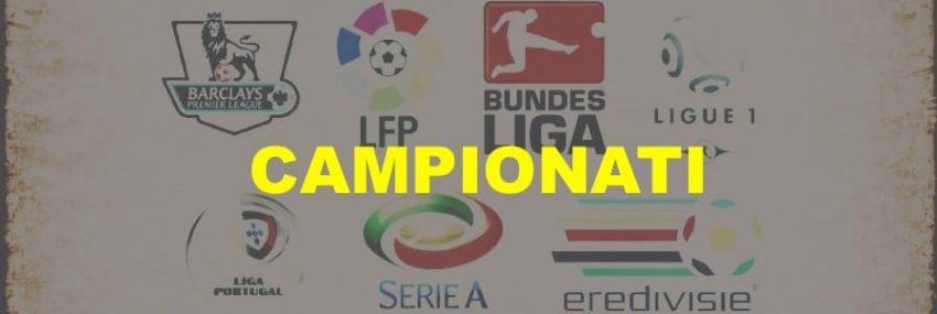 La Situazione Nei Maggiori Campionati Europei