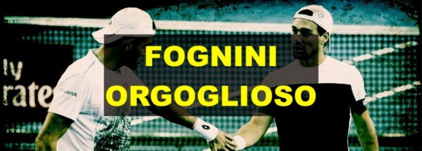 Fabio Fognini parla bene di Matteo Berrettini e di Jannik Sinner