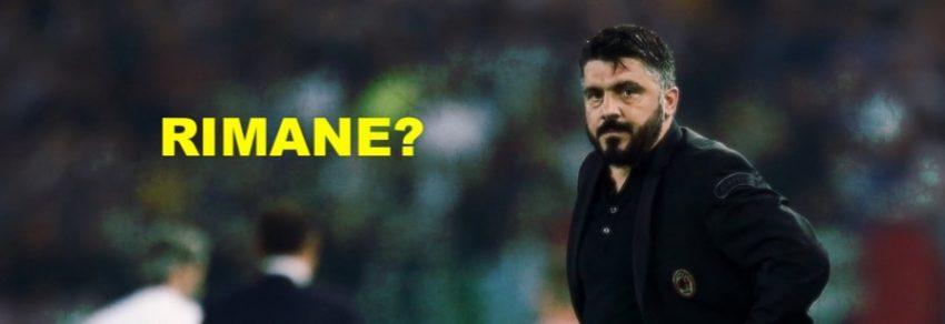 Il Milan resta con Gattuso, ma …