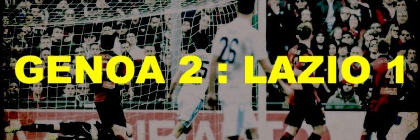 Genoa–Lazio: 2 – 1