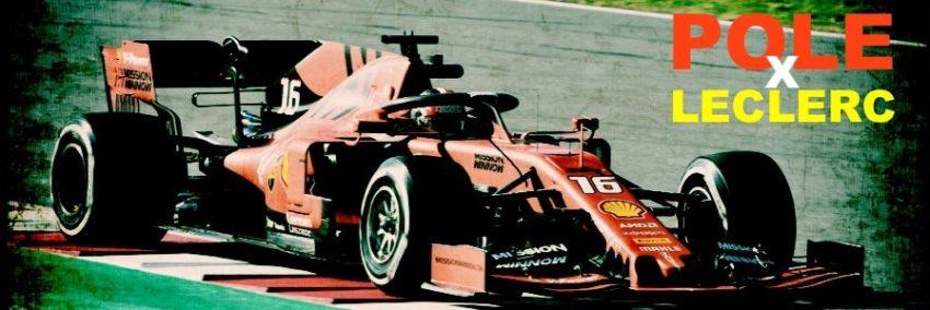 Leclerc illumina il Bahrain con la sua prima pole position in Formula 1