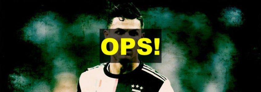 Ronaldo sbaglia il rigore!