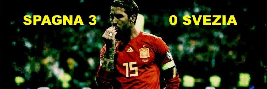 Spagna 3 – 0 Svezia