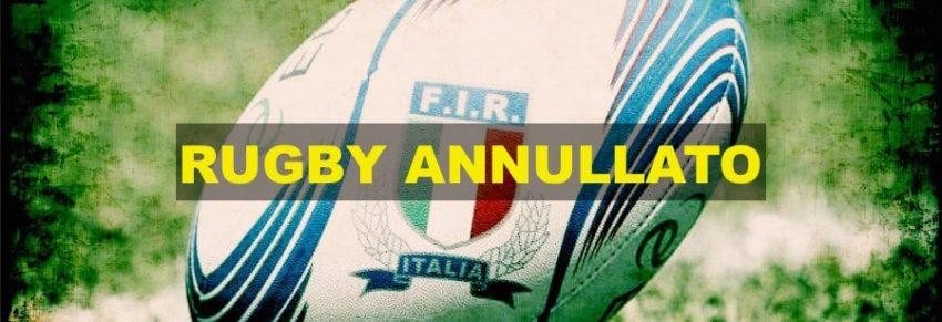 Il rugby italiano annulla la stagione