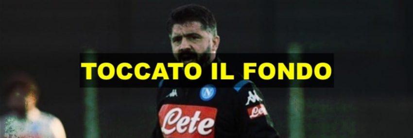 Gattuso: 'Napoli ha toccato il fondo'