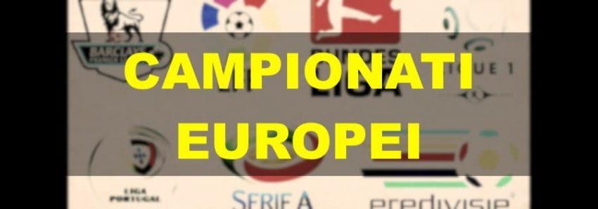 La Situazione Nei Principali Campionati Nazionali in Europa – Dicembre