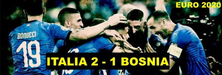 Italia – Bosnia: 2-1