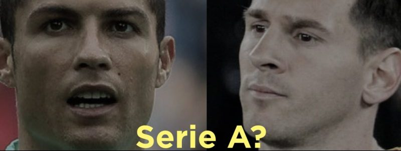 Cristiano Ronaldo sfida Lionel Messi a raggiungerlo in serie A