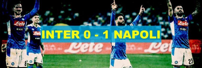 Coppa: Napoli batte Inter e va in semifinale
