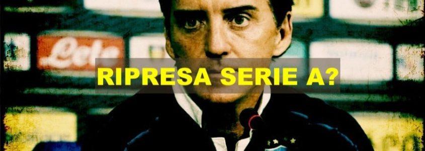 """Mancini: """"Meglio se la Serie A non giocasse, ma …"""""""