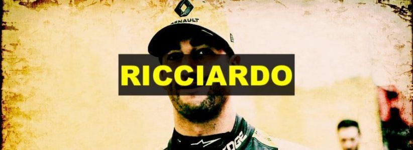 Daniel Ricciardo concentrato sulla Renault dopo il passaggio alla McLaren