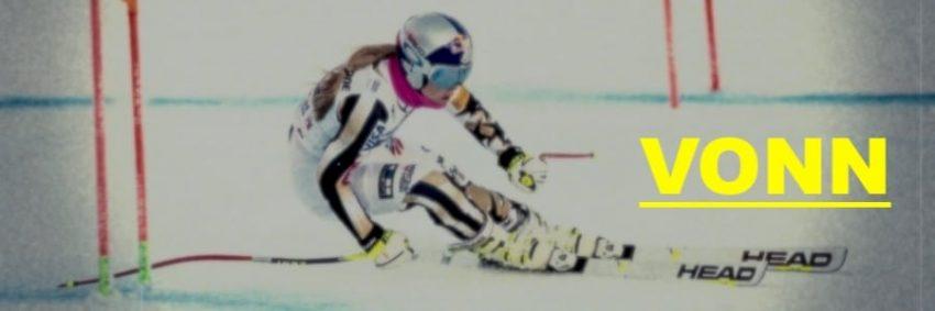 Lindsey Vonn. Bronzo ai mondiali di Are nella gara di fine carriera